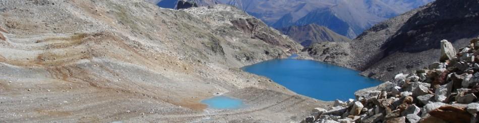 Lacs d'altitude dans le Massif d'Aneto, dans le département des Hautes-Pyrénées (© BRGM - Pierre Vassal)