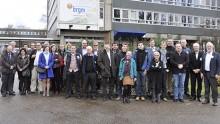 """Plus de 30 représentants de 20 services géologiques européens ont participé à l'atelier """"Stratégies pour développer les infrastructures géoscientifiques 3D"""". © BRGM"""