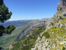 Canyon d'Ansiclo (Pyrénées aragonaises) - © BRGM - Flora Lucassou