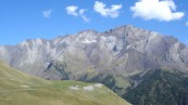 Le massif du Posets, deuxième plus haut sommet des Pyrénées (Hautes-Pyrénées, 2006) (© BRGM - Pierre Vassal)