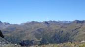 Vue panoramique sur la chaîne des Pyrénées côté Atlantique, avec le Mont Perdu (Hautes-Pyrénées, 2006) (© BRGM - Pierre Vassal)